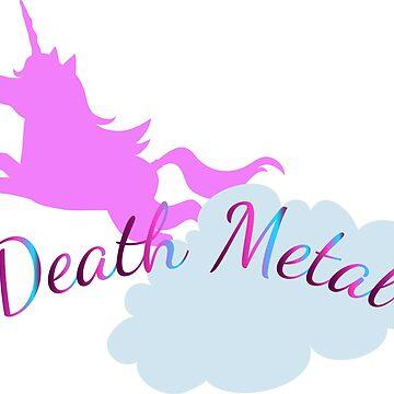 Death Metal Unicorn by brittanyik
