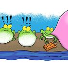 Funny frogs cartoon by FrogFactory