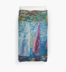 Sails To-Night by Lena Owens  Thank you to the customer!! SOLD °◦✰ Duvet Cover