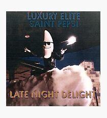 Late Night Delight by Luxury Elite and Saint Pepsi Photographic Print