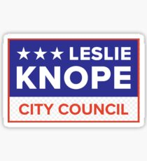 Vote Leslie Knope 2020 Sticker