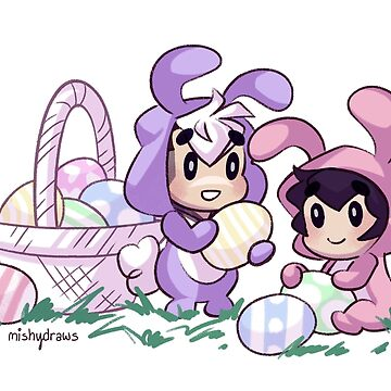 Easter Buns by mishydraws