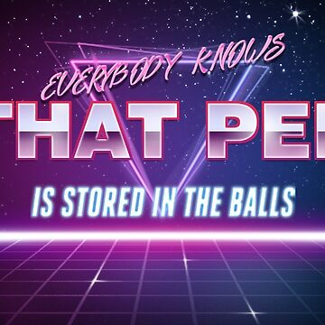 Everybody knows that pee is stored in the balls! by Xuxm