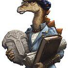Archaeology Stegosaurus by Joshosaurus