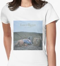 Lucy Rose - like i used to LP Sleeve artwork Fan art Women's Fitted T-Shirt