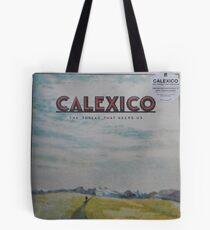 Calexico - The thread that keeps us LP Sleeve artwork Fan art Tote Bag
