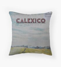 Calexico - The thread that keeps us LP Sleeve artwork Fan art Throw Pillow