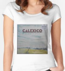 Calexico - The thread that keeps us LP Sleeve artwork Fan art Fitted Scoop T-Shirt