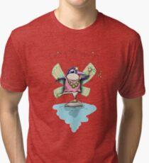 Cute Fairy Penguin Tri-blend T-Shirt