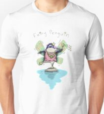 Cute Fairy Penguin Slim Fit T-Shirt