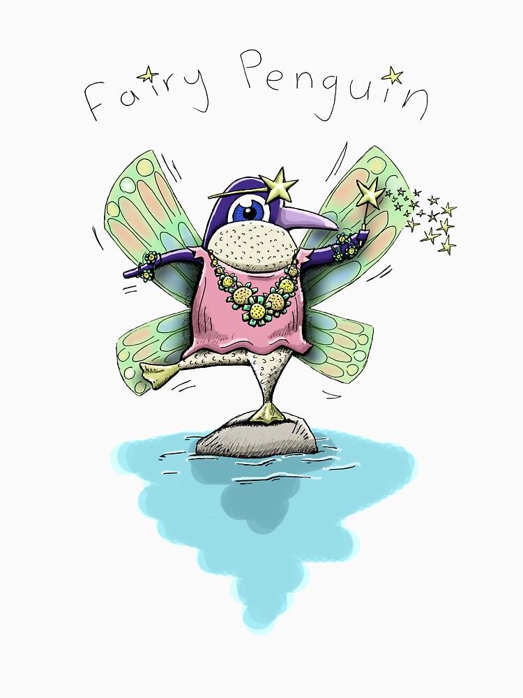 Cute Fairy Penguin by eddcross