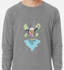 Cute Fairy Penguin Lightweight Sweatshirt