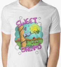 Sweet Dreams - Cute Sleeping Koala V-Neck T-Shirt