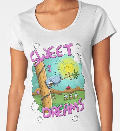 Sweet Dreams - Cute Sleeping Koala Premium Scoop T-Shirt