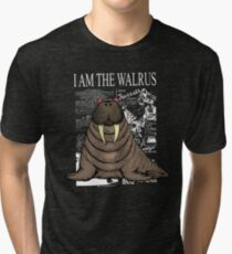 I Am the Walrus Tri-blend T-Shirt