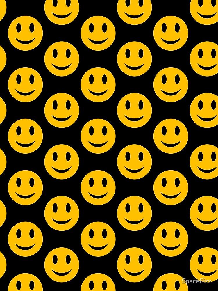 Smiley-Gesicht - rund von SpaceFizz