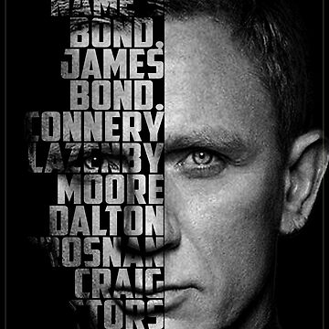 James Bond Poster by LordHornblower