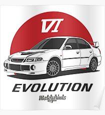 EVO VI (white) Poster