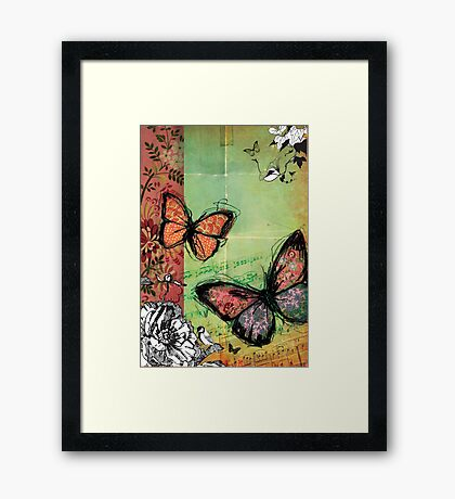 dream for two (11) Framed Print