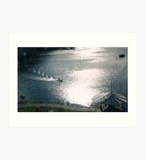False Creek, Yaletown, Vancouver  Art Print