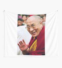 His Holiness the Dalai Lama. northern india Wall Tapestry