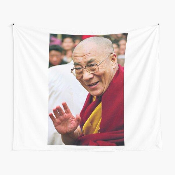 His Holiness the Dalai Lama. northern india Tapestry