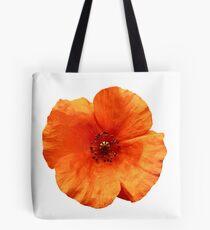 Spring time orange poppy Tote Bag