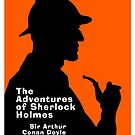 The Adventures of Sherlock Holmes Book Cover by Ian Fox