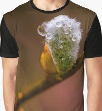 Flower macro Graphic T-Shirt