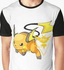Raichu - Team Instinct Graphic T-Shirt