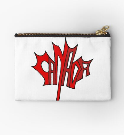 Canadian Maple Leaf Studio Pouch