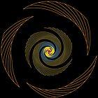 Goldene Spirale - Klingenversion von bunbun369