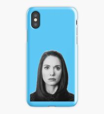 Annie Edison - Light Blue iPhone Case/Skin