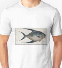 Vintage Illustration of a Palometa Fish (1785) Unisex T-Shirt
