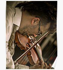 Paprika Balkanicus Violinist Poster