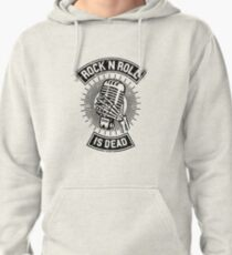 Rock and Roll is Dead Pullover Hoodie