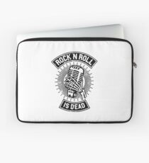 Rock and Roll is Dead Laptop Sleeve