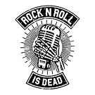 Rock and Roll is Dead by mobiiart