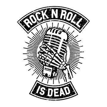 Rock and Roll ha muerto de mobiiart