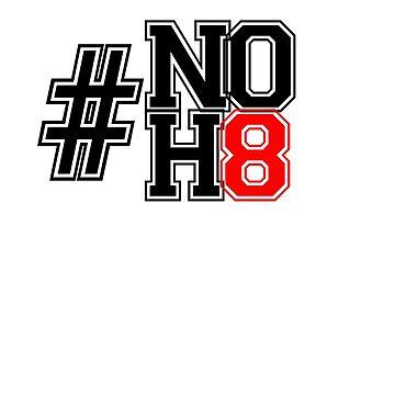 NO H8 by gemzysworld