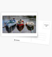 Fishing Boats  Postcards