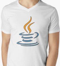 Java Logo Men's V-Neck T-Shirt