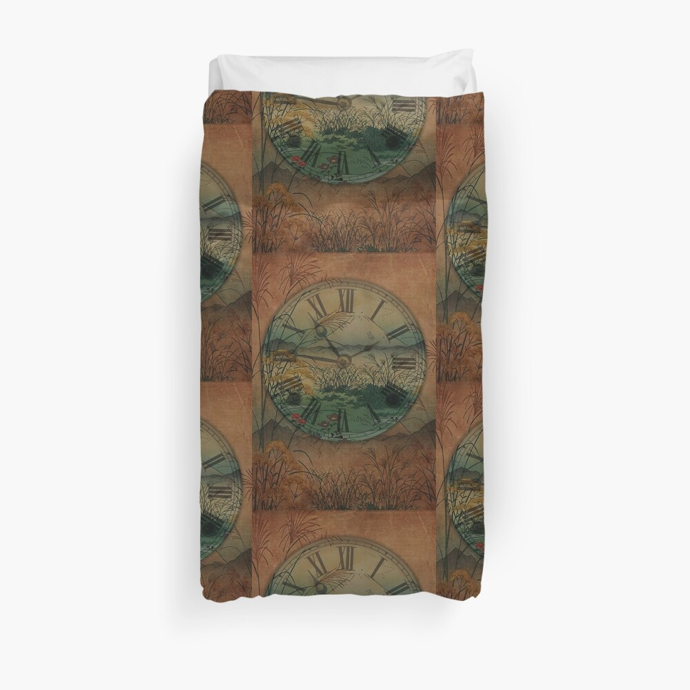 Behind Time Duvet Cover