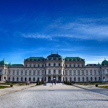 Belvedere Palace Vienna by sbosic