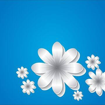 CONTRAST TANKS FLOWERS by silveirinha46