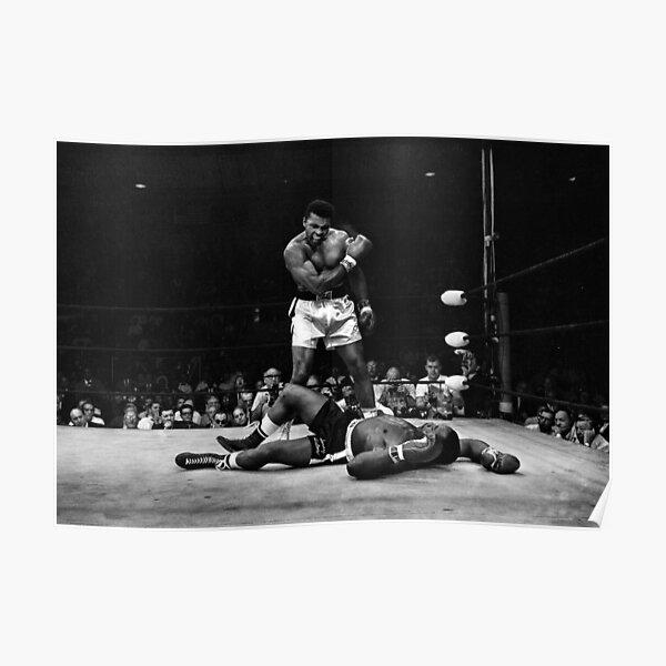 Muhammad Ali Face Black /& White Print American Boxing Legend Photo Sports Poster