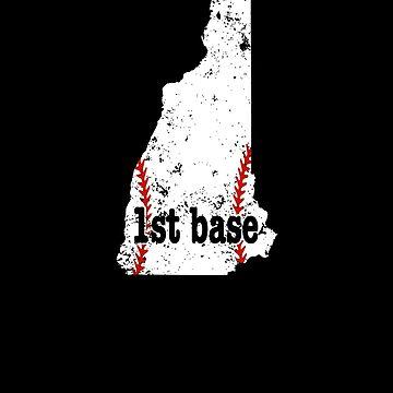 Fast Pitch Softball First Base New Hampshire by shoppzee