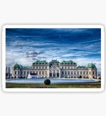 The Belvedere Palace - Vienna Sticker