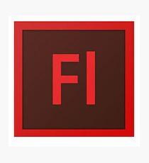 Flash Logo Photographic Print