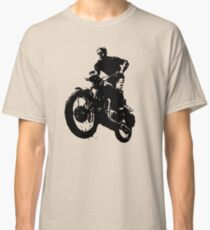 Jump in Motorbike Classic T-Shirt